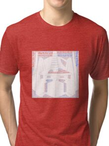 Optimus Prime Quote Word Art Tri-blend T-Shirt