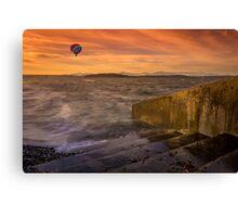 Alki Sunset Canvas Print