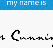 Hello! Cunningham Sticker