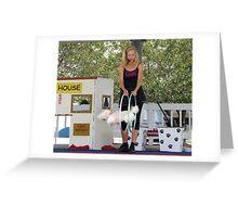 Hoop-La Greeting Card