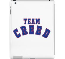 Team CREED iPad Case/Skin