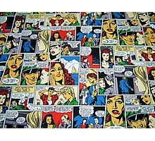 Comic Strip Photographic Print