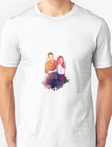 Sophia Bush and Jesse Lee Soffer Watercolor T-Shirt