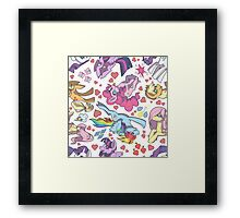 My Little Pony - Tile Framed Print