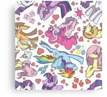 My Little Pony - Tile Canvas Print