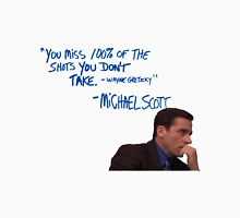 Michael Scott's Inspirational Quote (Colour) Unisex T-Shirt