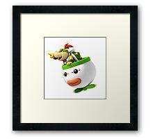 Bowser Jr. Framed Print
