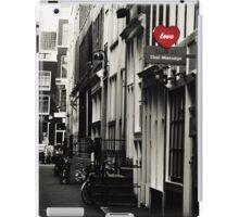 Amsterdam. Love iPad Case/Skin