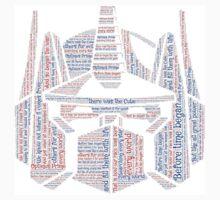 Optimus Prime Quote Word Art Kids Clothes