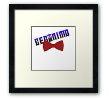 geromino doctro who Framed Print