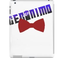 geromino doctro who iPad Case/Skin