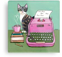 Love Note From The Cat Metal Print