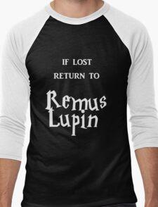If Lost Return to Remus Lupin / Harry Potter Men's Baseball ¾ T-Shirt