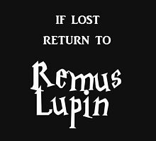 If Lost Return to Remus Lupin / Harry Potter Women's Fitted V-Neck T-Shirt
