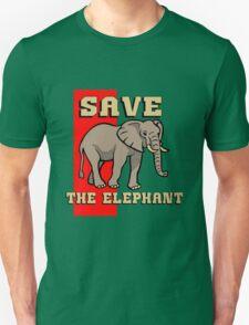 SAVE THE ELEPHANT-3 T-Shirt
