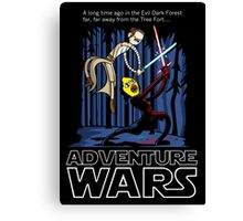 Adventure Wars Canvas Print
