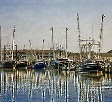 Fishing Boats by Dawn Gari