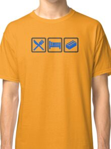 Eat Sleep Lego Classic T-Shirt