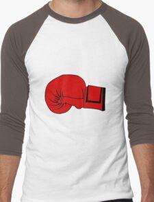 Boxing Glove Men's Baseball ¾ T-Shirt