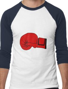 Boxing Glove Men's Baseball ¾ T-Shirt