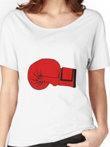 Boxing Glove Women's Relaxed Fit T-Shirt