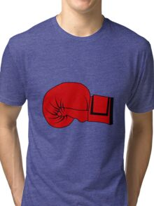 Boxing Glove Tri-blend T-Shirt