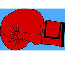 Boxing Glove Photographic Print