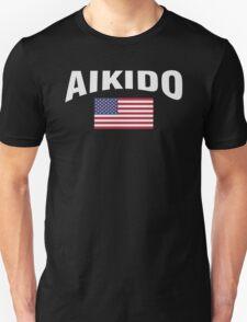 Aikido United States Flag T-Shirt