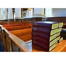 Danish Hymn Books, Copenhagen Photographic Print