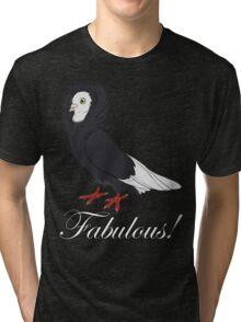 Fabulous Jacobin Pigeon Tri-blend T-Shirt