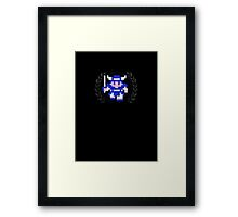 Dragon Warrior - Sprite Badge Framed Print