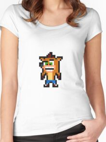 Crash Bandicoot Women's Fitted Scoop T-Shirt