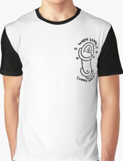 When Lonely, Cuddle Yourself Graphic T-Shirt