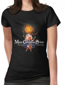 Red Mage - Female Womens Fitted T-Shirt