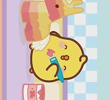 kawaii molang bunny chick piu piu  by rtown66