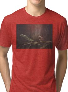Chickadee in the Redwoods Tri-blend T-Shirt