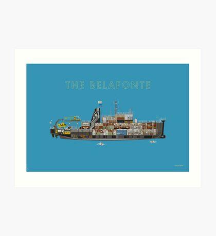 The Belafonte - The Life Aquatic Art Print