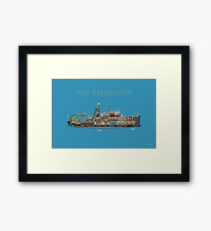 The Belafonte - The Life Aquatic Framed Print