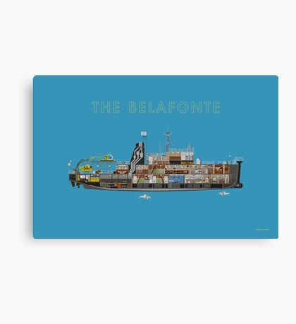 The Belafonte - The Life Aquatic Canvas Print