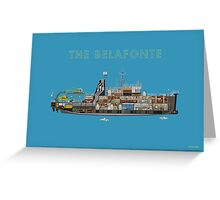 The Belafonte - The Life Aquatic Greeting Card