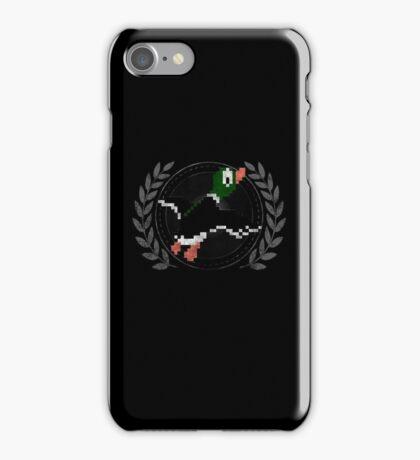 Duck Hunt - Sprite Badge iPhone Case/Skin