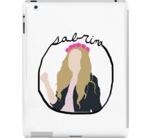Sabrina Carpenter  iPad Case/Skin