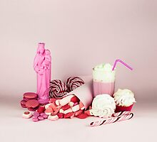 Sweet pink doom still life by josemanuelerre