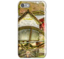 Smallest working water mill iPhone Case/Skin