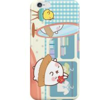 kawaii molang bunny hula iPhone Case/Skin