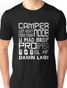 Shooter Quotes - Call Of Duty - Counter Strike Unisex T-Shirt