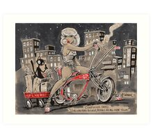 Pedal to the Metal Art Print