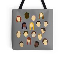 The Office Heads Tote Bag
