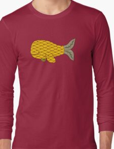 Pineapple Whale Long Sleeve T-Shirt