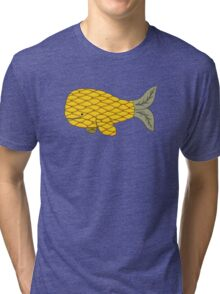 Pineapple Whale Tri-blend T-Shirt